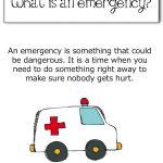 Emergency 101 – How informed should children be?