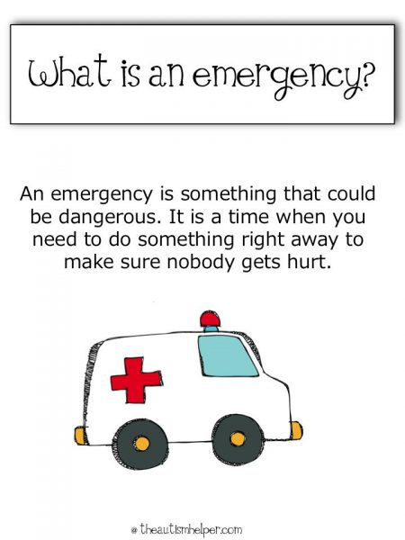 Emergency 101 – How informed should children be?
