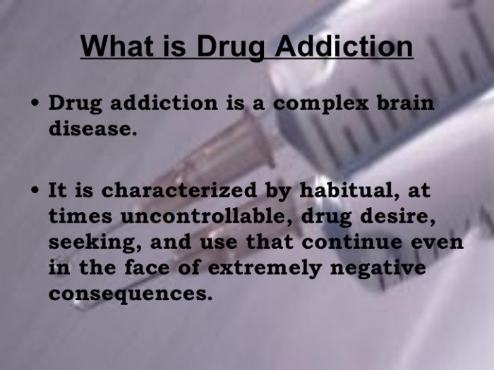 Drug Addiction - Auntylulu`s blog