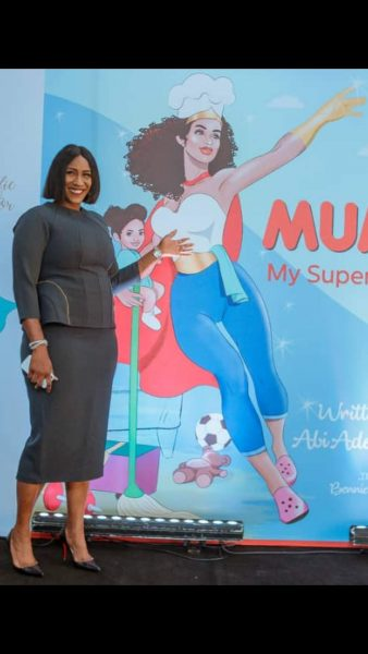Mum my Superhero book Launch