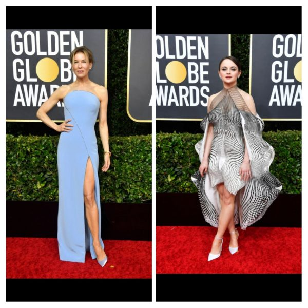 Fashion from the Golden Globes 2020