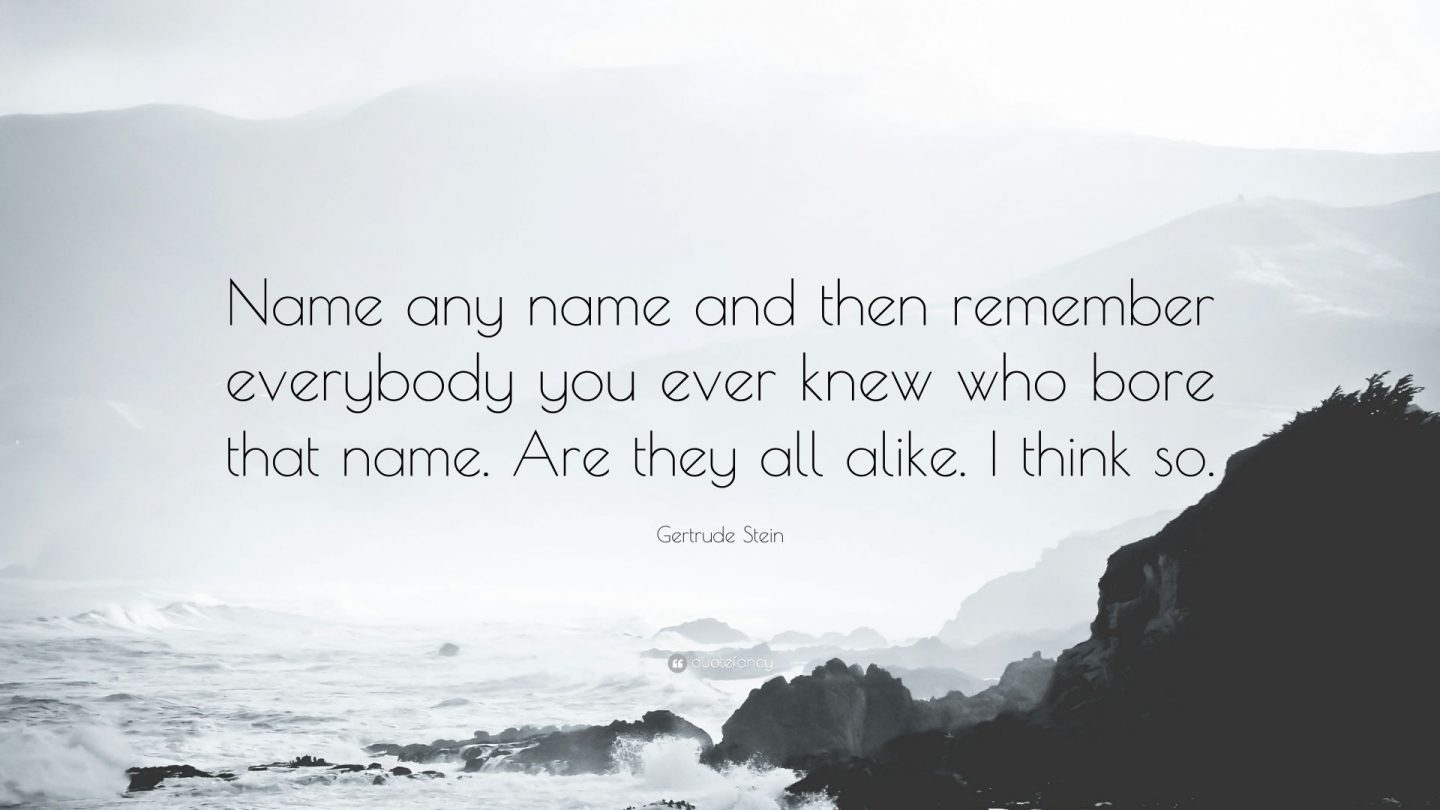 the power of names