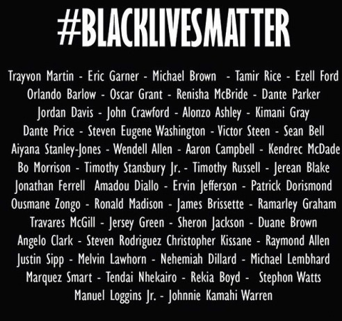 Our lives matter!